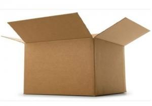 Paletový box z kartonu