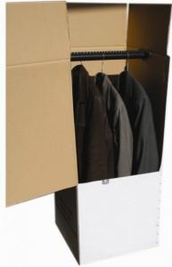 Šatní box na přepravu šatů